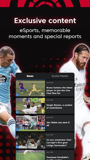 La Liga Official App - Live Soccer Scores & Stats स्क्रीनशॉट 4