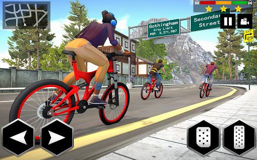 Mountain Bike Simulator 3D screenshot 6
