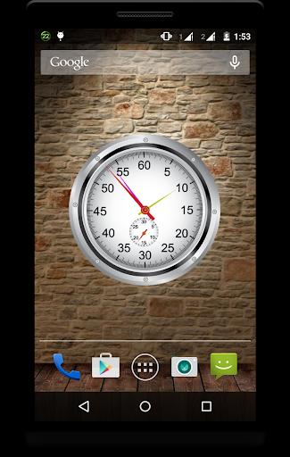 Metal Clock Live Wallpaper 6 تصوير الشاشة