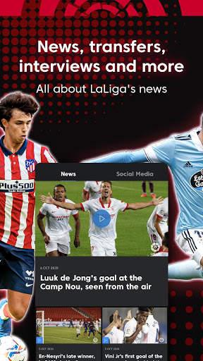 La Liga Official App - Live Soccer Scores & Stats screenshot 13