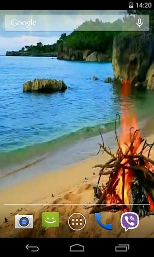Bonfire Video Live Wallpaper screenshot 4