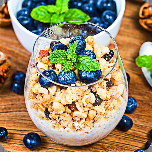البحث عن 5 الاختلافات - صور الطعام اللذيذ 3 أيقونة