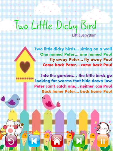 Kids Songs - Best Offline Nursery Rhymes screenshot 5