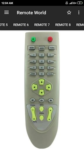DD Free Dish Remote Control (36 in 1) screenshot 2