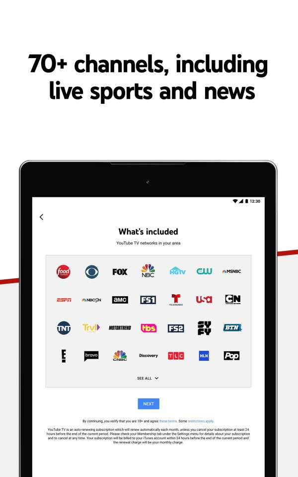 YouTube TV - Watch & Record Live TV screenshot 7