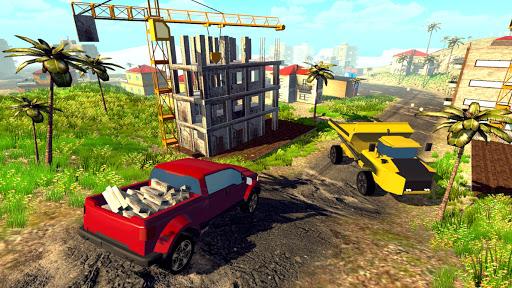 Off road Truck Simulator: Tropical Cargo screenshot 7