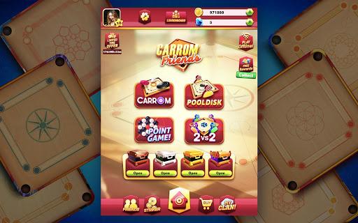Carrom Friends : Carrom Board & Pool Game 22 تصوير الشاشة