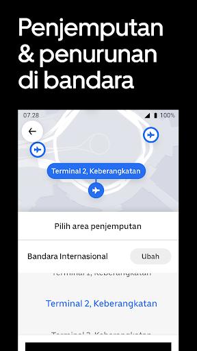 Uber - Pesan perjalanan screenshot 6