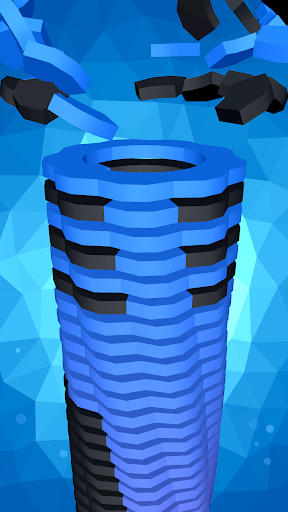 Drop Stack Ball - Fall Helix Blast Crash 3D 1 تصوير الشاشة