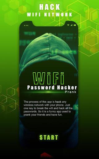 WIFI Password Hacker App Prank screenshot 1