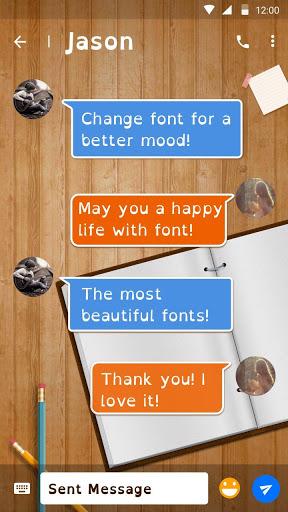 Dyslexic Font for FlipFont , Cool Fonts Text Free screenshot 2