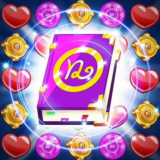 Magic Jewels: New Match 3 Games أيقونة