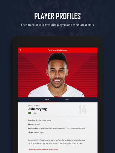 Arsenal Official App 14 تصوير الشاشة