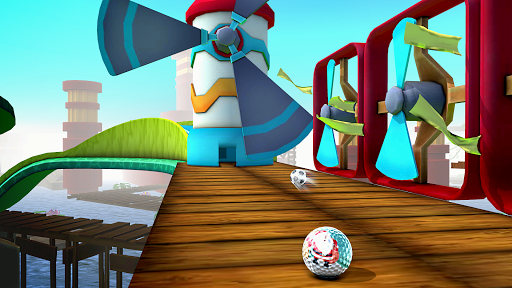 Mini Golf 3D City Stars Arcade - Multiplayer Rival screenshot 3