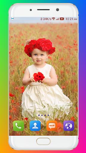 Cute Baby Wallpaper screenshot 12