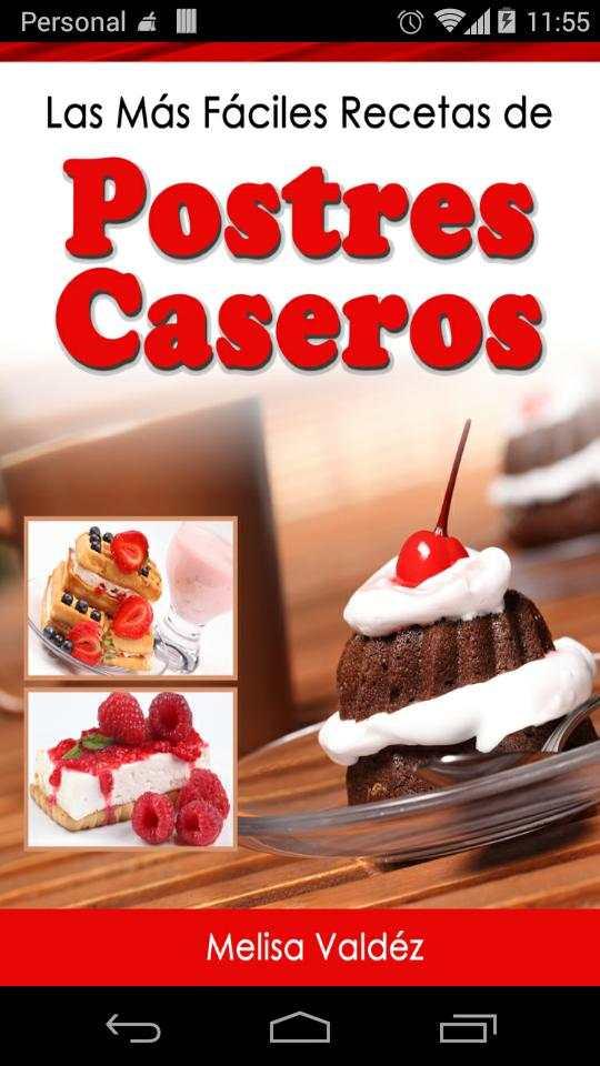 Postres Caseros 2.0 screenshot 1