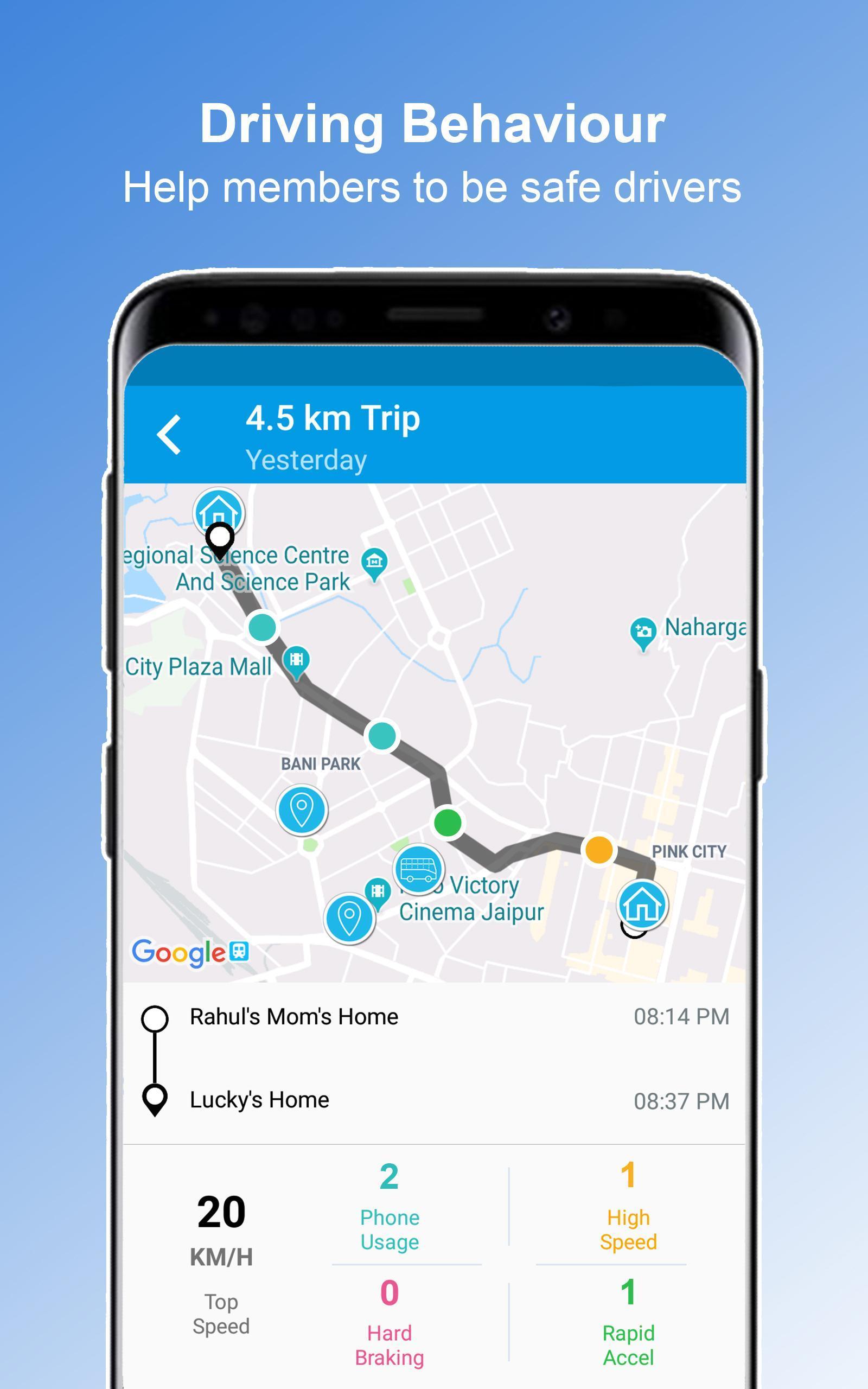 Family Locator On Map - GPS Tracker 4 تصوير الشاشة