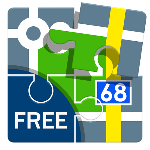Locus Map Free - Hiking GPS navigation and maps icon