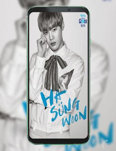 Ha Sungwoon Wallpaper HD 2 تصوير الشاشة