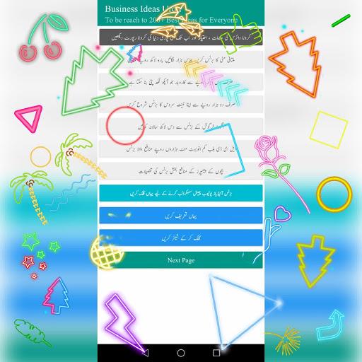 Business Ideas Urdu - Easy Business in Pakistan screenshot 2