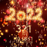 New Year 2022 countdown on 9Apps