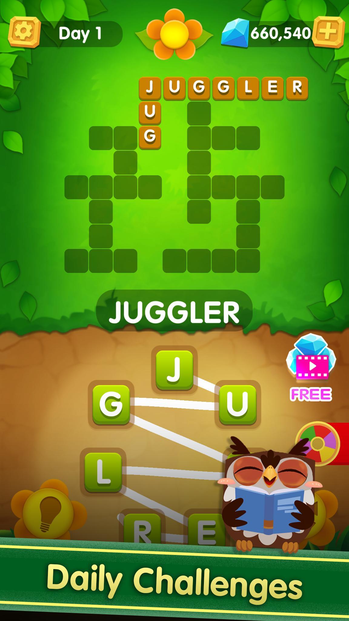 Word Cross : Word Games Puzzle screenshot 2
