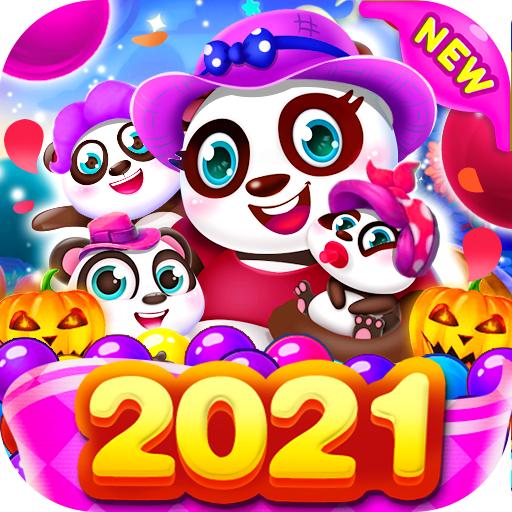 Bubble Shooter Free Panda أيقونة