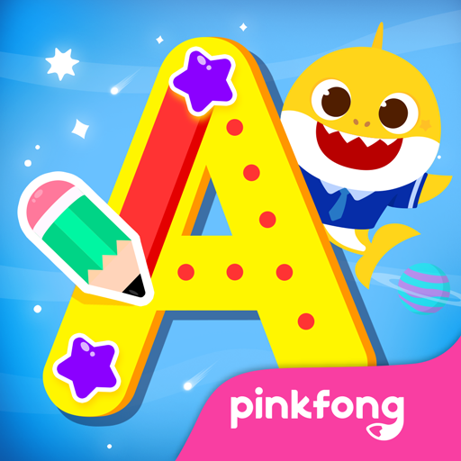 Pinkfong Tracing World أيقونة