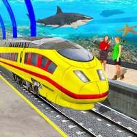 Juego trene ciudad submarina on 9Apps