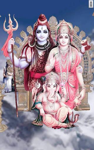 4D Shiv Parvati Live Wallpaper screenshot 15