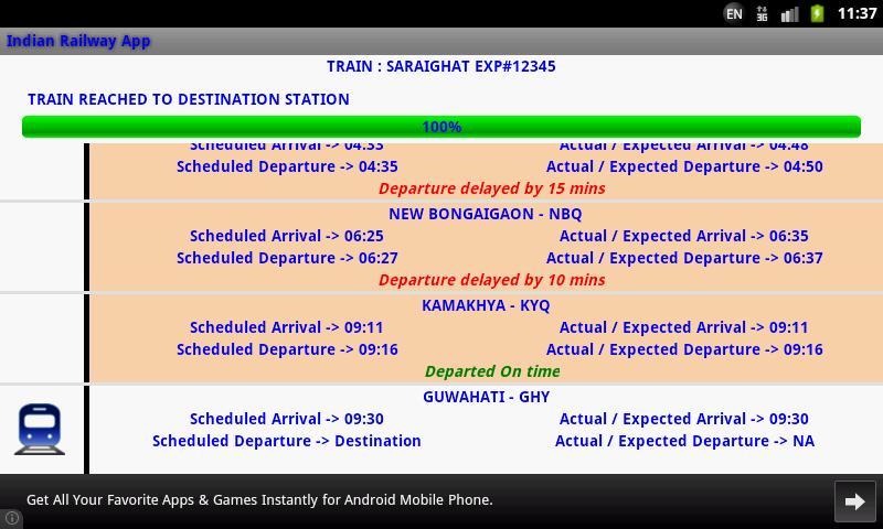 Indian Railway screenshot 17