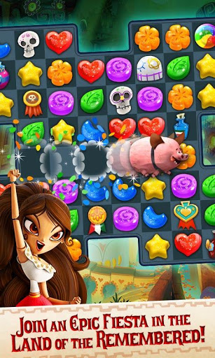 Sugar Smash: Book of Life - Free Match 3 Games. screenshot 2