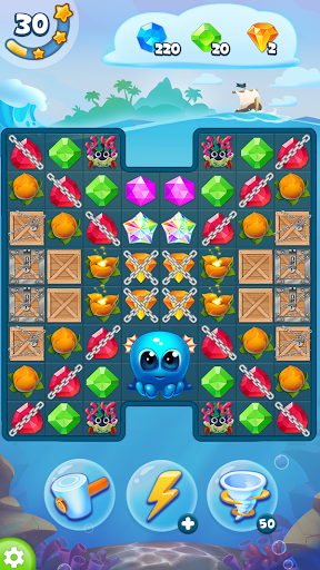 Pirate Treasures - Gems Puzzle 8 تصوير الشاشة