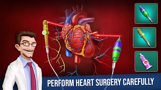 ألعاب طبيب جراحة القلب المفتوح الجديدة:العاب ممتعة 6 تصوير الشاشة