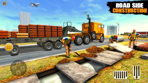 City Road Builder Highway Construction Games 2021 screenshot 1