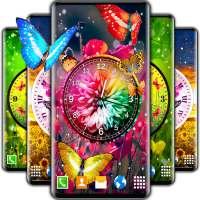 4K Live Wallpaper Butterfly 🦋 Butterflies Clock on APKTom