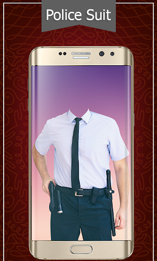 Police Suit Photo & Image Editor - Photo Frames 3 تصوير الشاشة