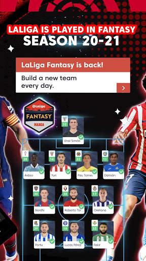 La Liga Official App - Live Soccer Scores & Stats screenshot 12