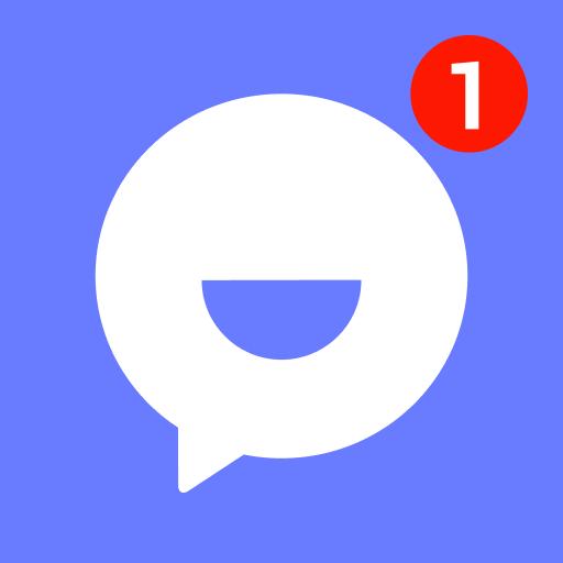 تمتم - تطبيق مراسلة لمكالمات الفيديو والدردشات أيقونة