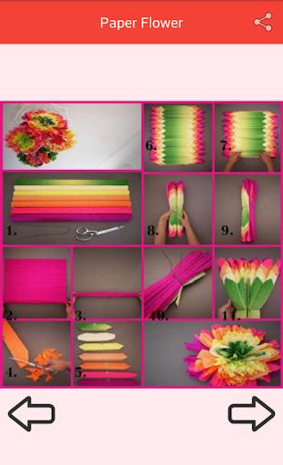 Paper Flower Craft screenshot 4
