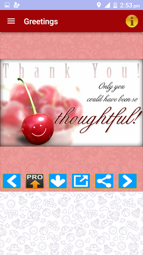 Thank You Greeting Card Images screenshot 2