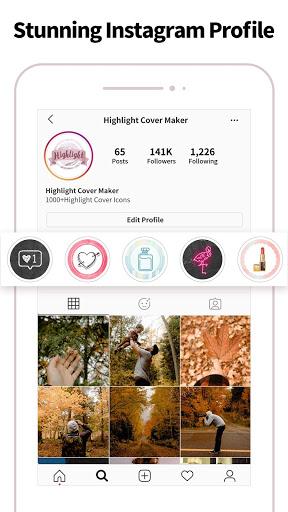 Highlight Cover & Logo Maker for Instagram Story screenshot 4