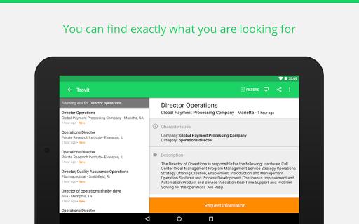 Find job offers - Trovit Jobs 6 تصوير الشاشة