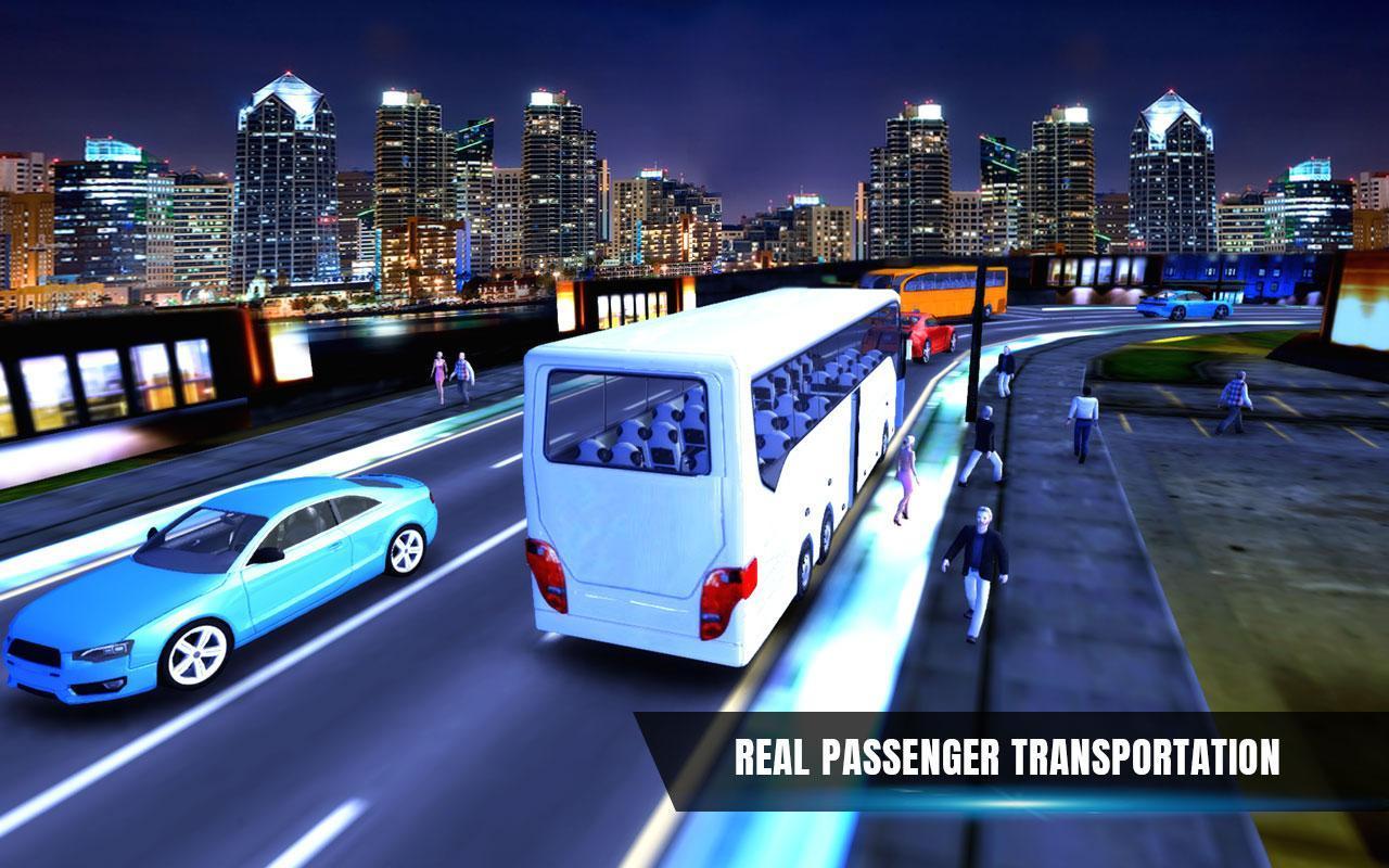 City Coach Bus Simulator 17 - Real Parking Test 3D 5 تصوير الشاشة