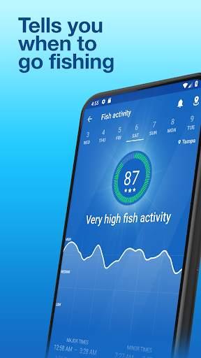 Fishing Points: GPS, Tides & Fishing Forecast screenshot 3
