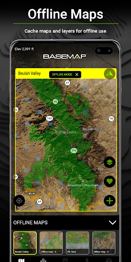 BaseMap: Hunting Maps, Offline Nav/GPS & Weather screenshot 2