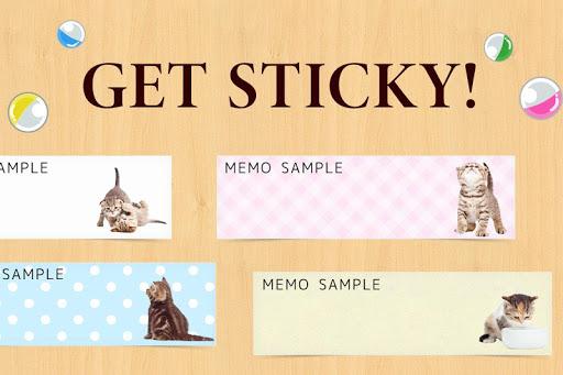 नोटपैड नोट्स : Cat Sticky - बिल्ली screenshot 5