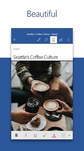 Microsoft Word: Write, Edit & Share Docs on the Go screenshot 1