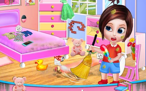 تنظيف المنزل - تنظيف المنزل لعبة بنات 16 تصوير الشاشة