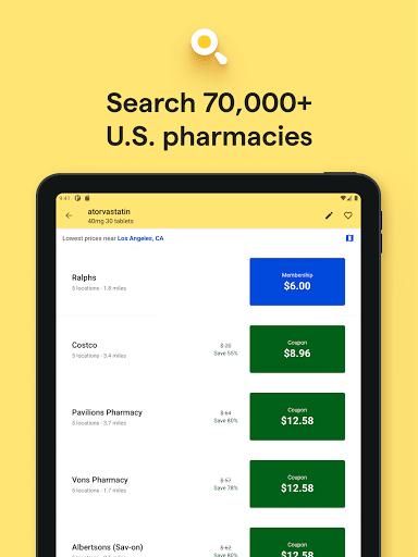 GoodRx: Prescription Drugs Discounts & Coupons App 12 تصوير الشاشة